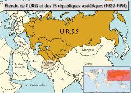 carte URSS
