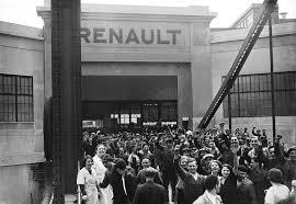 grève dans les usines Renault, 1919