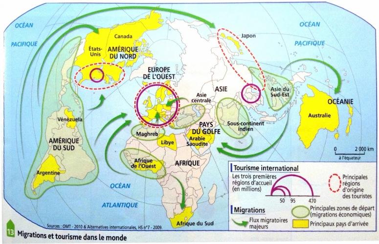 tourisme et migrations